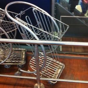 """""""Stroke Bloke's off his trolley."""""""