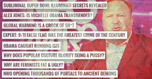 Actual Infowars headlines