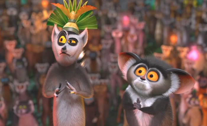 King Julien is sceptical