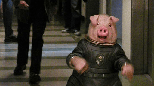 But Space Pig, it's the other way!