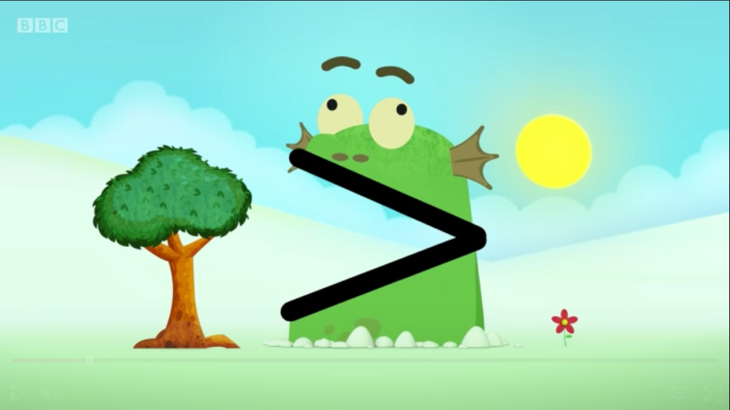 Blockzilla. Y'know, from Numberblocks. The Wee Man's favourite show. Yep, pretty self indulgent.